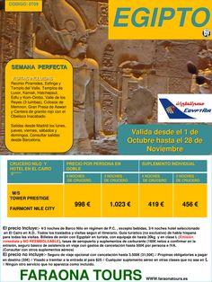 Egipto, Semana Perfecta con el Barco Tower Prestige y Hotel Fairmont Nile City. Valida hasta 28/11 ultimo minuto - http://zocotours.com/egipto-semana-perfecta-con-el-barco-tower-prestige-y-hotel-fairmont-nile-city-valida-hasta-2811-ultimo-minuto/