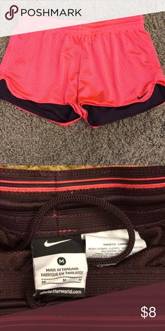 Nike Mesh Dri Fit Short Hot pink mesh shorts. Great condition. No trades/PayPal. Nike Shorts