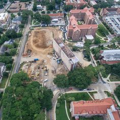 "Aerial Tallahassee on Instagram: ""Dorman Hall is no more (at least for now)! #iHeartTally"""