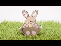 Tutorial: Oster(hasen)körbchen mit dem EPB - YouTube
