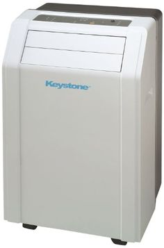 "Keystone KSTAP14A 14,000 BTU 115-Volt Portable Air Conditioner with ""Follow Me"" LCD Remote Control"