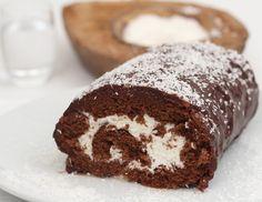 Chocolate e coco roulade - Receita - ichkoche.at