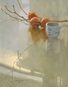 Nature Morte Painting by Ton Ferkol