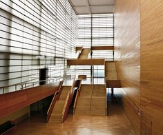 modernizing:  Kursaal, the multibuilding convention center and...