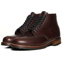 """Red Wing 9030 Beckman 6"""" Moc Toe Boot ($465) found on Polyvore"""