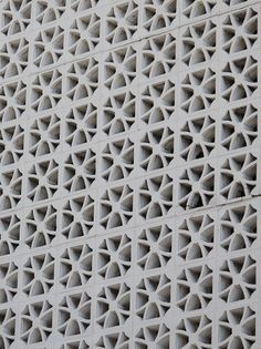 Ideas For Screen Design Architecture Concrete Blocks Concrete Blocks, Concrete Wall, White Concrete, Breeze Block Wall, The Block, Divider Screen, Screen Design, Modern Exterior, Outdoor Walls