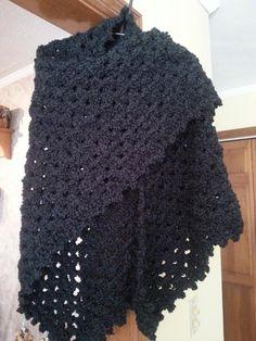 Margaret's Hug Healing Shawl/Prayer Shawl - Crochet creation by Shirley