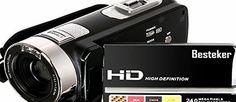 Besteker Video Camcorder, Besteker Portable HD 1080p IR Night Vision Max. 24.0 MP Enhanced Digital Camera Cam No description (Barcode EAN = 0702795083748). http://www.comparestoreprices.co.uk/december-2016-week-1/besteker-video-camcorder-besteker-portable-hd-1080p-ir-night-vision-max-24-0-mp-enhanced-digital-camera-cam.asp