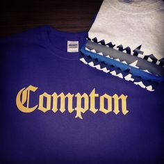 Compton OG Old English Shirts