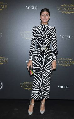 Giovanna Battaglia attends the Irving Penn Exhibition Private Viewing Hosted by Vogue as part of the Paris Fashion Week Womenswear Spring/Summer 2018...