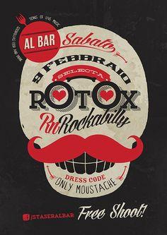 Rotox Selecta live at Al bar (Poster)