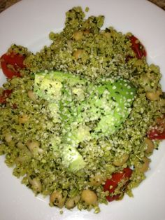 Quinoa with Kale Pesto