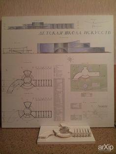 ДШИ: архитектура, 2 эт | 6м, модернизм, учебное заведение, школа, колледж, 5000 м2 и более, каркас - ж/б, здание, строение #architecture #2fl_6m #modernism #educationalinstitution #school #college #5000m2иболее #frame_ironconcrete #highrisebuilding #structure arXip.com