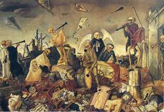 Felix Nussbaum - The Dance Of The Skeletons (1944)