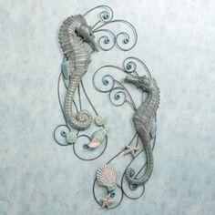 Seahorse Serenade Wall Sculpture Set