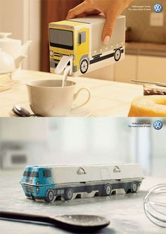 These Volkswagen ads by BBDO Brazil made me smile (via craven maven)