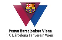 FC Barcelona Fan Club - Vienna www. Fc Barcelona, Print Design, Fan, Club, Printed, Vienna, Print Layout, Hand Fan