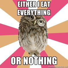 Eating Disordered Owl