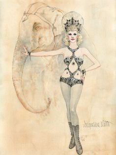 Gorgeous costume for Water for Elephants by Jacqueline West