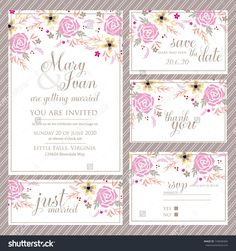 Wedding Invitations With Rsvp Cards Included : Wedding Invitations And Rsvp  Cards Package   Superb Invitation