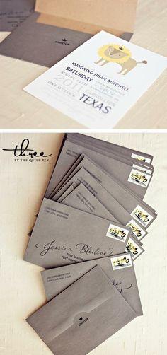 i like the back of the envelope
