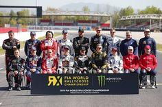 2015 FIA World Rallycross Championship Media Day, Barcelona, 13th April 2015 Worldwide Copyright: McKlein/IMG