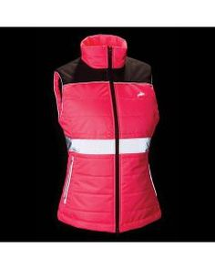 Hi Viz Womens Down Like Gilet in Pink Equestrian Collections, British Style, Pink, Jackets, Women, Fashion, Down Jackets, Moda, Women's