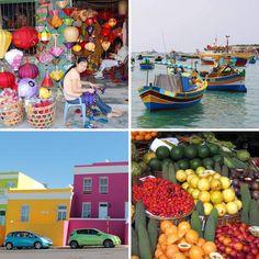 #travel #world #colourful #bunt #animal #plants #nature #eht #eberhardt_travel #richtigreisen #fruits #houses #sea