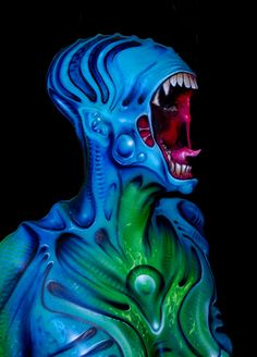 body paint science fiction