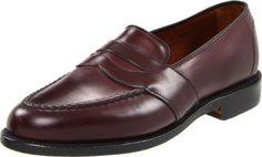 €346, Slippers en cuir bordeaux Allen Edmonds. De Amazon.com. Cliquez ici pour plus d'informations: https://lookastic.com/men/shop_items/11043/redirect