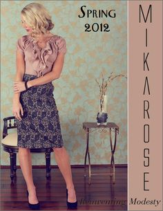 Mikarose...modest, affordable dresses. hmm ill have to check it out sometime