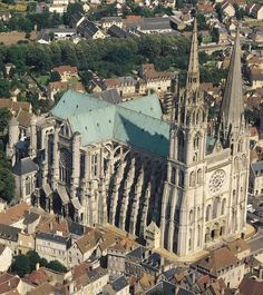 Chartres Cathedral, Chartres, France, 1194 to 1260