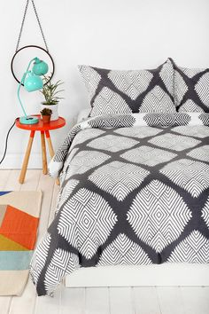 Magical Thinking Diamond Tile Duvet Cover  I want my small space to be AWESOME. I entered the #UrbanOutfitters Pin A Room, Win A Room Sweepstakes! #smallspace