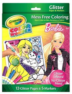 Color Wonder Coloring Book with Markers   Crayola   Pinterest ...