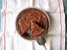 Silken Chocolate Pie with Vegan Chocolate Crust