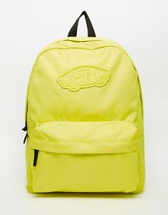 Vans Realm Backpack in Yellow