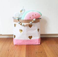 Image of Sweet hearts paper storage sack
