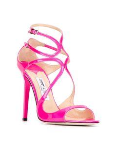 ff4257b4720fc Jimmy Choo 'lance' Sandals - Vitkac - Farfetch.com Stiletto Shoes, Stilettos