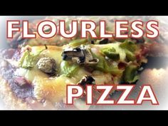 Flourless Pizza Recipe | Cheap Clean Eats