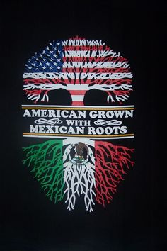 Details about American Grown With Mexican Roots Screen Printed Mexican T-Shirts Z Mexican American Flag, Mexico Wallpaper, Mexican Artwork, Mexican Paintings, Mexican Art Tattoos, Indian Tattoos, Mexican Flags, Mexican Men, Skull Art