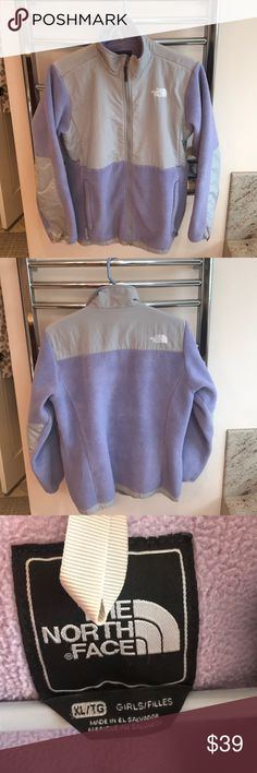 North Face fleece, Childrens XL North Face purple fleece Childrens XL, fits like a women's small North Face Jackets & Coats