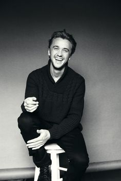 Tom Felton. And when I was little people wondered why I liked Draco??? Duh that's why ^^^^