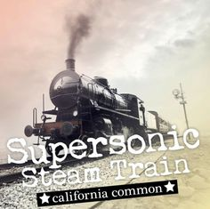 Supersonic Steam Train is a California Common, a classic style of California beer. A well-balanced beer made with bottom-fermenting lager yeast in ale temperature.