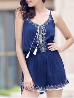 GET $50 NOW | Join RoseGal: Get YOUR $50 NOW!http://www.rosegal.com/jumpsuits-rompers/casual-spaghetti-strap-sleeveless-embroidery-402681.html?seid=jds5gqe6hduh0chfju59q1btl0rg402681