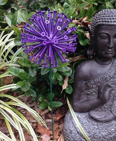 Allium Garden Sculpture by TheGomezProject on Etsy