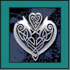Celtic heart from gaelstreasures.com