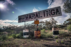 Maralinga's nuclear test site history on show. RoyalAuto February, An original Maralinga sign. Desert Trip, Connect, Site History, Us Deserts, Nuclear Test, February 2016, Future Travel, South Australia, Cold War