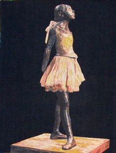 see details here: Degas Ballerina on Black...
