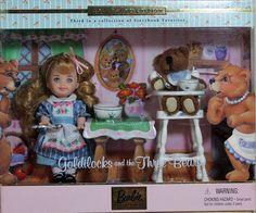 Goldilocks & the Three Bears Kelly 2000, MIB NRFB - 29605 #Mattel