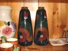 Decoro vases by R H & S L Plant